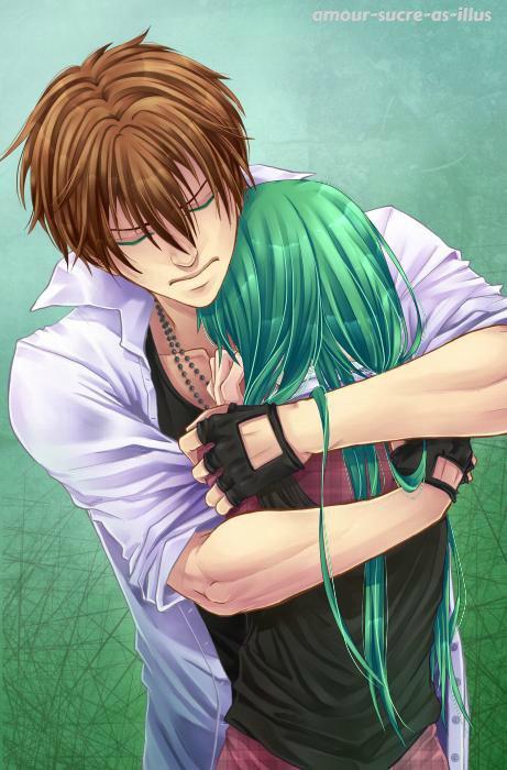 Sucrette : Cheveux long,vert,yeux vert. (Que les illustrations avec une sucrette.)