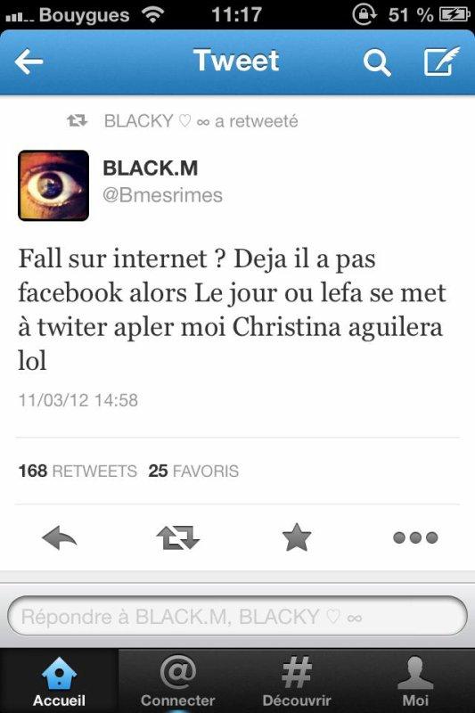 de black m a christina O_o mdr dead !