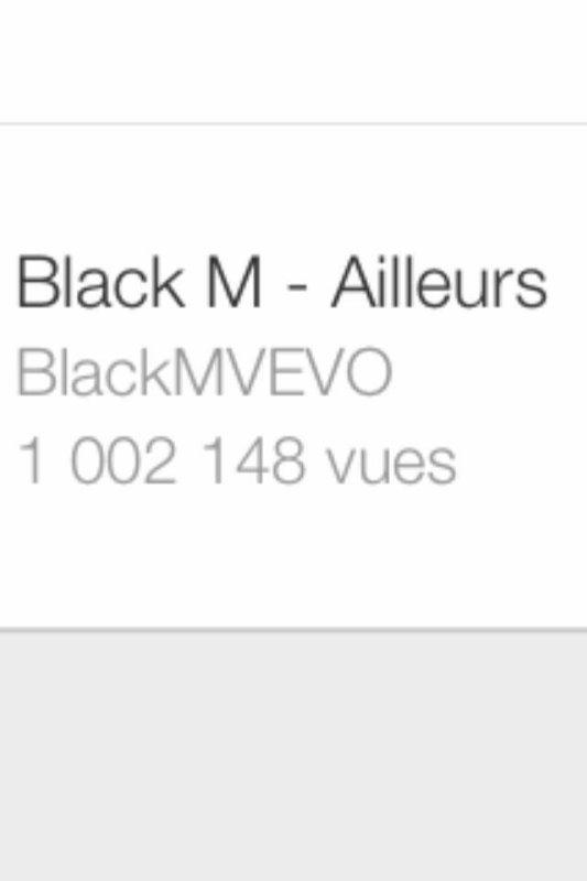 Le million de vue !!!