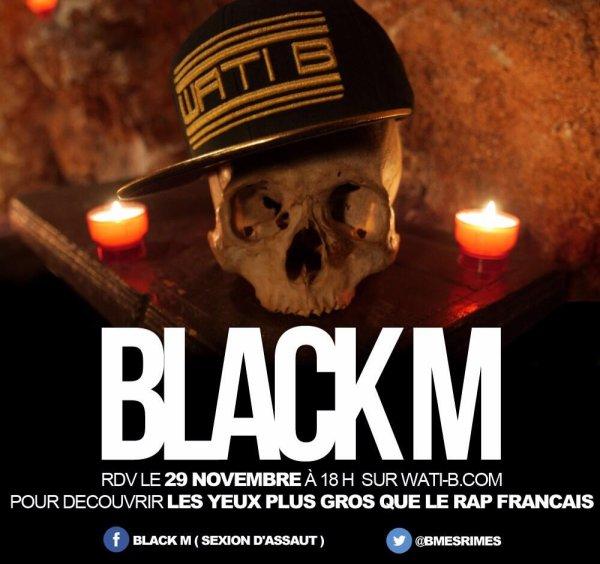 postez sur le FB de Black.M Novembre