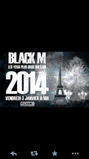postez sur le fb de Black M Janvier