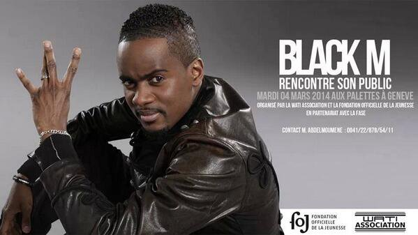 Black M rencontre son public