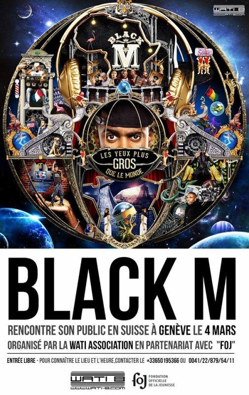 postez sur le fb de Black M mars
