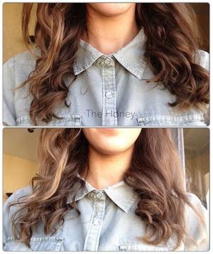 [ Hair n°2 ] Boucles naturelles-Sans chaleur, ni matériel spécial