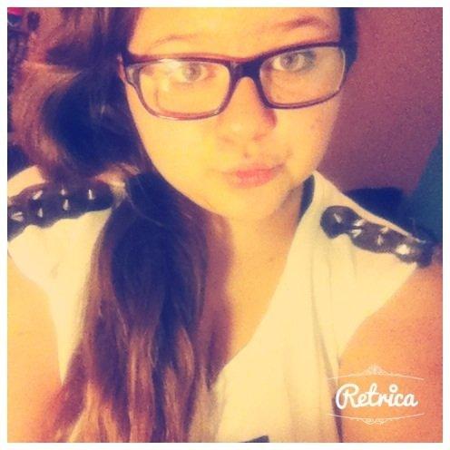Moi avec mes lunette