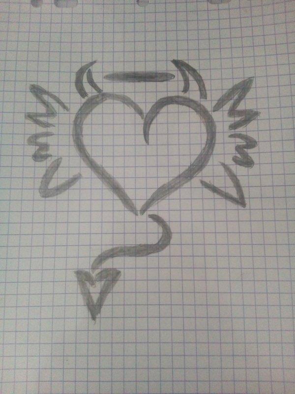 coeur ange et demon