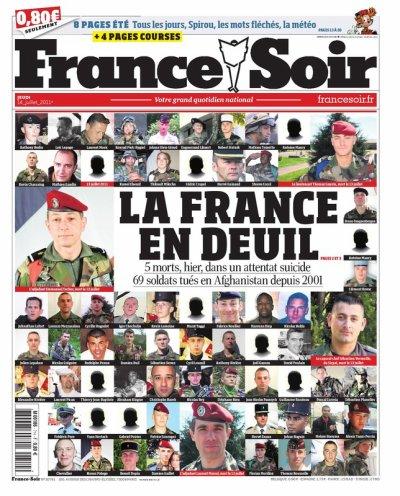 LA FRANCE EN DEUIL