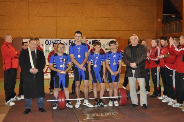 La jeune équipe Sallauminoise brille dans le championnat de division régionale.