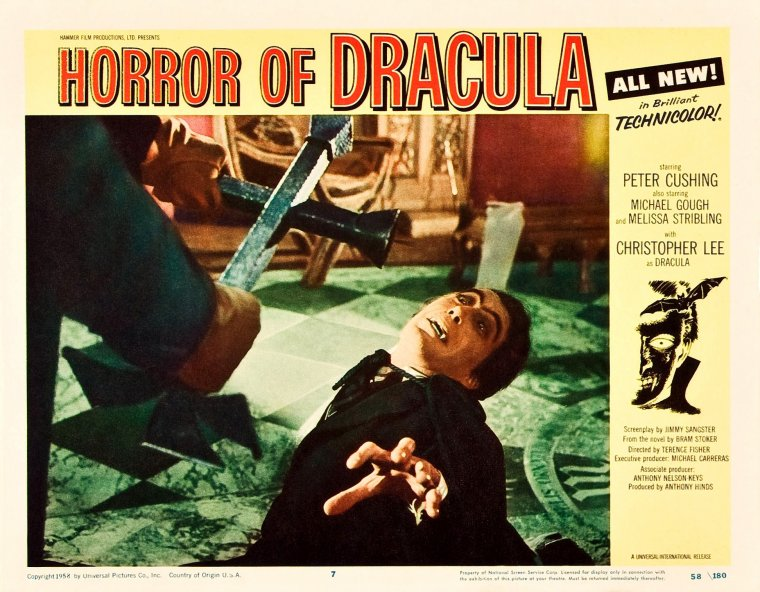 When Christopher Lee was Dracula...