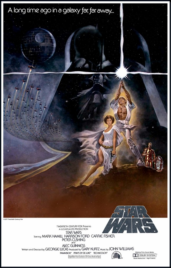 Star Wars, or later Star Wars episode IV : A new hope