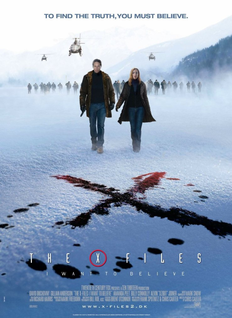 The X-files : I want to believe
