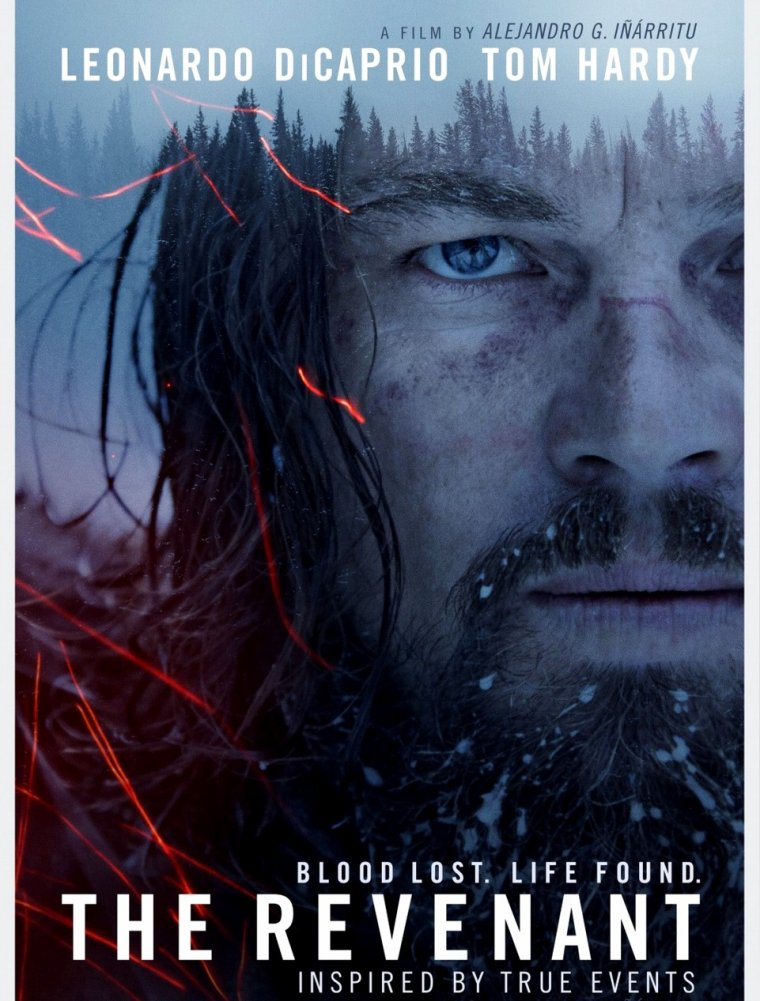 Leonardo DiCaprio is the revenant
