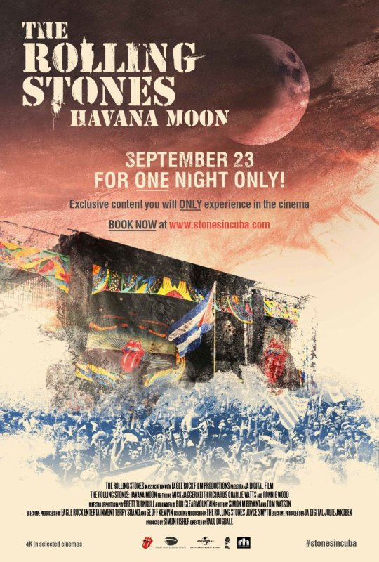 The Rolling Stones : Havana moon