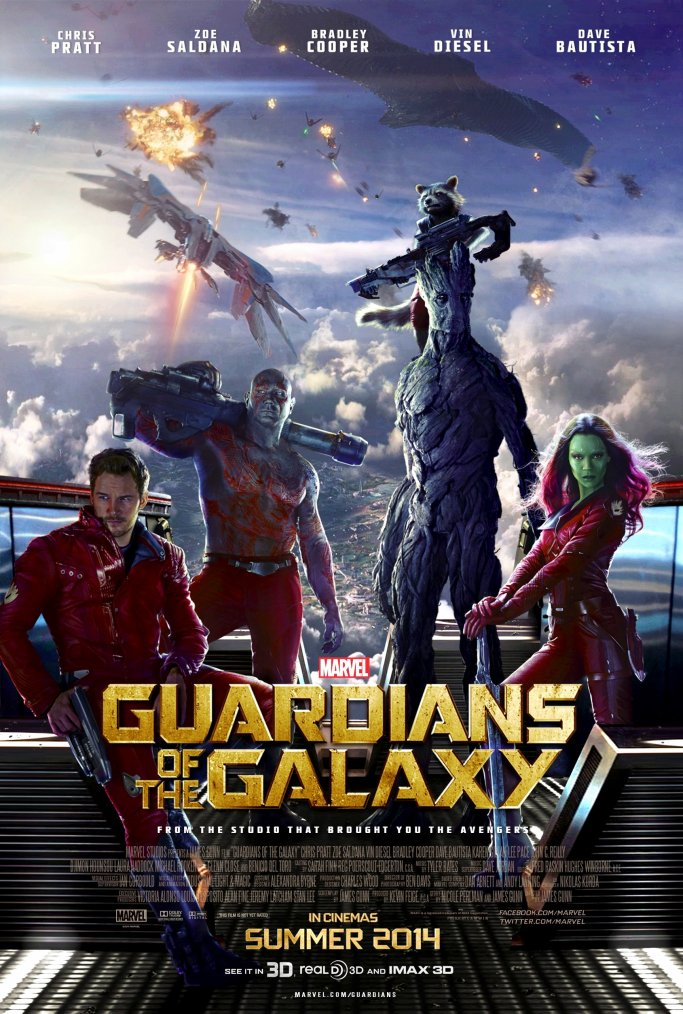 Guardians of the galaxy (the movie)