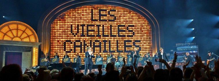 Quand Les Vieilles Canailles étaient à Bercy en 2014