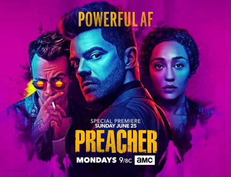 The preacher is fucking back !