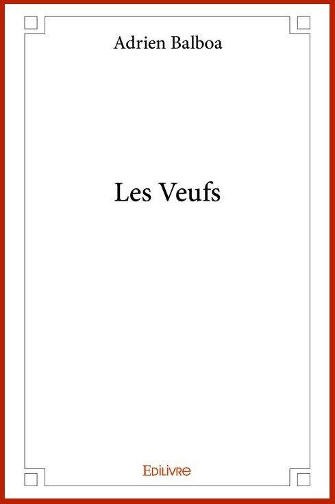 Mon premier roman Les Veufs est désormais disponible en librairie
