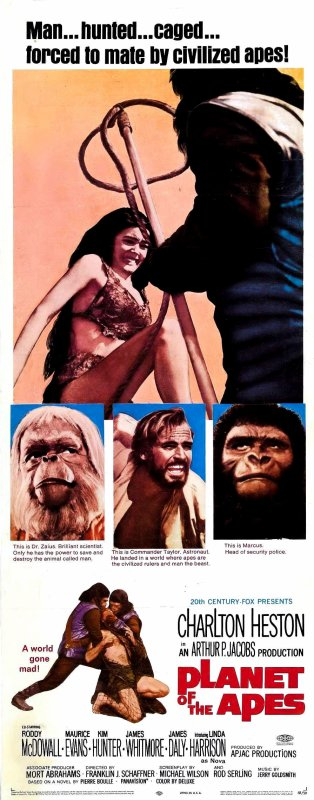 Planet of the Apes, the first movie
