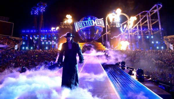The Undertaker vs John Cena at Wrestlemania 34
