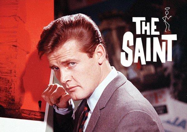 Roger Moore is Simon Templar, The Saint