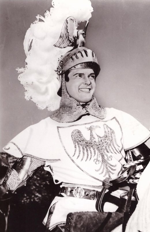 Roger Moore is Ivanhoe