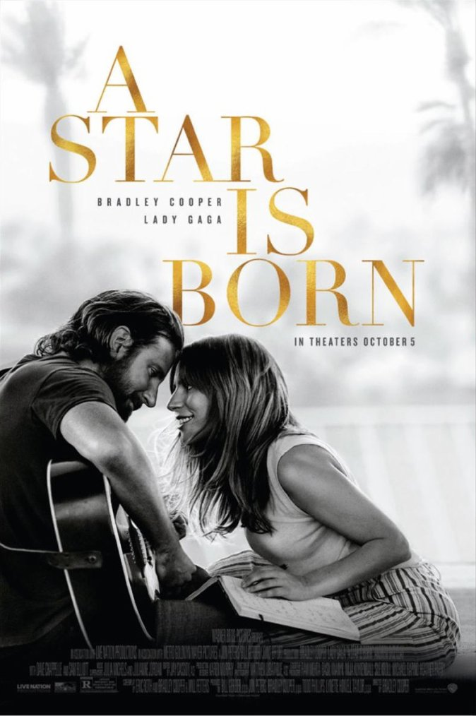 A star is born (with Lady Gaga and Bradley Cooper)