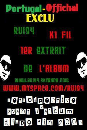 """Retrospective avant l'album """"qu'à un fil"""" premier extrait du projet ...laisse tes impressions....peace....Rui94"""
