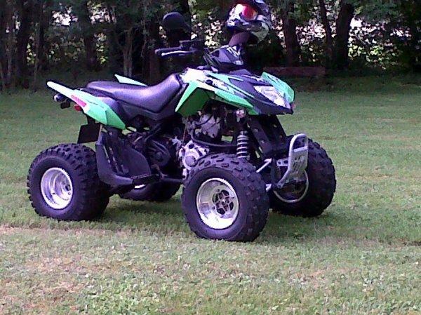 quad 250 dvx