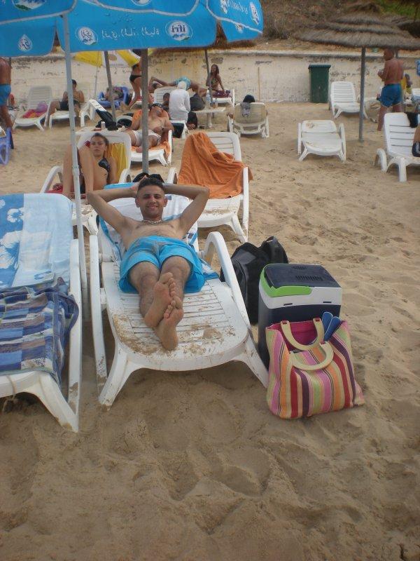 a la plage de iden a oran