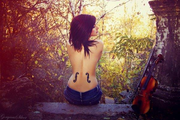 La violoniste qui m'aimait en secret...
