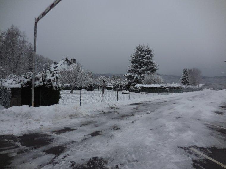Petite sortie dans la neige a Mélisey