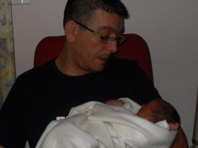 Alessio et sont papa