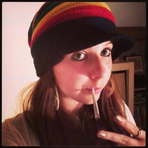 Posey :) #Rastafari #Joint #Peace #OneLove