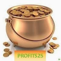 Le principe de Profits25 est simple : vous achetez des parts d'une valeur unitaire de 25,- ¤. Profits25 vous rembourse ensuite vos fonds avec une plus-value de 40 % .Le remboursement est basé sur la valeur de la part, en moyenne de 2,10 à 2,20 ¤, et vous touchez votre argent chaque semaine.  C'est-à-dire que vous recevez, chaque vendredi matin, la valeur de la part multipliée par le nombre de vos parts jusqu'à concurrence de la somme due, ce qui prend une moyenne de 14 à 16 semaines. En d'autres termes, vous percevez votre investissement plus 40 %, en quatre mois. (Juste pour rire : le livret A de la Caisse d'Épargne vous offre 1,25 % en douze mois  lien inscription  http://myModule25.com/canada2014