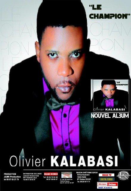 L'affiche officiel du Maxi Single de notre frère OLIVIER KALABASI et son groupe EL-BETHEL
