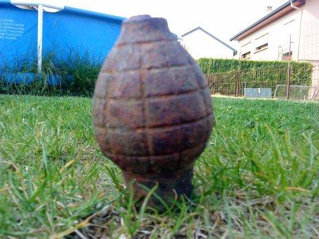 Grenade foug citron française de ww1