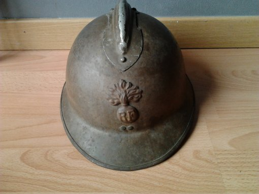 casque adrian model 26 ww2