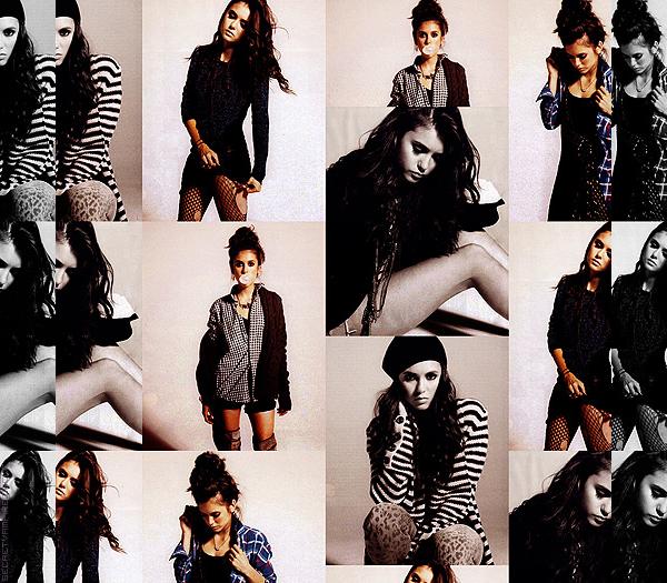 ♣ Photoshoot  de Nina pour Nylon