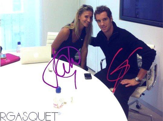 Autographes de Richard et de Tatiana Golovin
