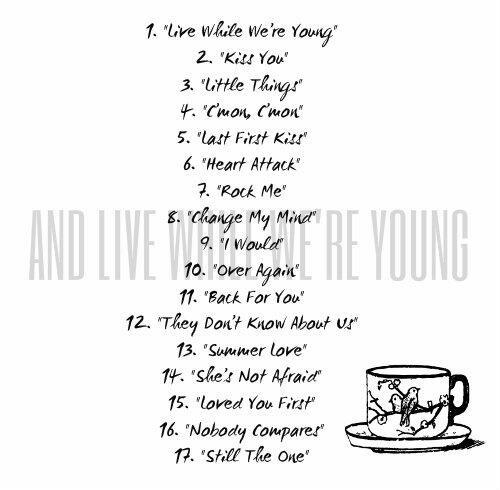 Les albums de 1D<3
