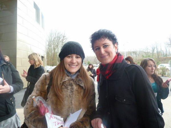 Rencontre avec la troupe de Mozart l'Opéra Rock à Amnéville (18/02/2011 au 20/02/2011)