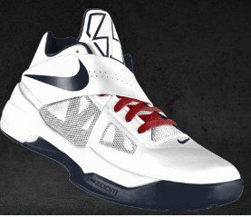 f0343489bc4 i got my new kevin durant 2012 olympic shoes nike kd 4 usa shoes today