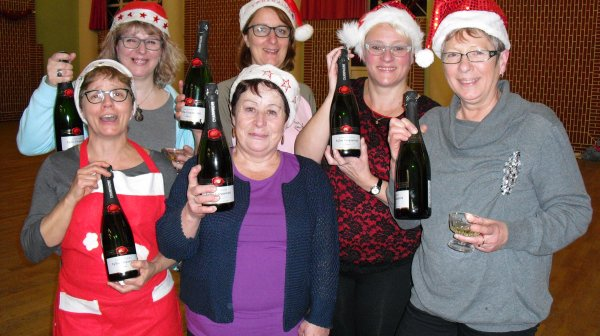 Voici les heureuses veinardes de la loterie de Noel 2016