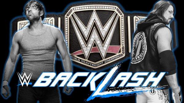 Dean Ambrose VS Aj Styles pour le titre