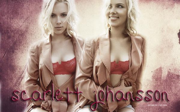 Scarlett Johansson< Biographie >