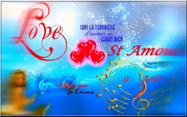 La Saint Amour ... Fête de l'amour