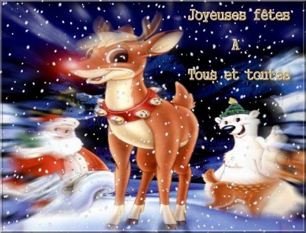 Bonnes fêtes de fin d'année à tous et toutes