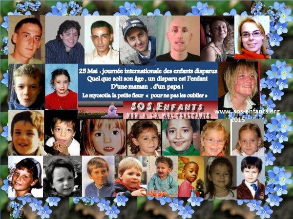 25 Mai Journée international des enfants disparus