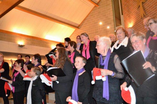 Concert Chorale  Génération Plurielle de Tilleur ( Belgique )