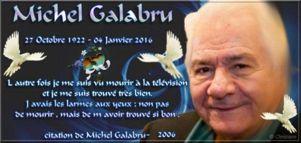 Décès de Michel Galabru